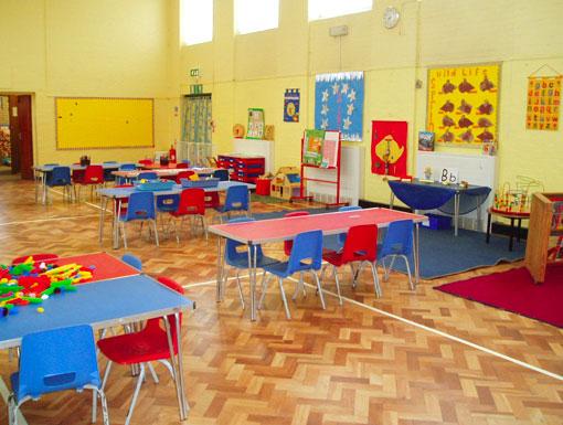 Silverdale Preschool Room